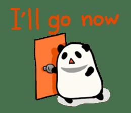 Moving Contact MochiPanda(English Ver) sticker #568316