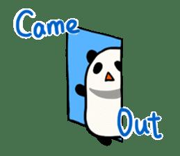 Moving Contact MochiPanda(English Ver) sticker #568317
