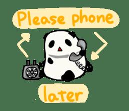 Moving Contact MochiPanda(English Ver) sticker #568320