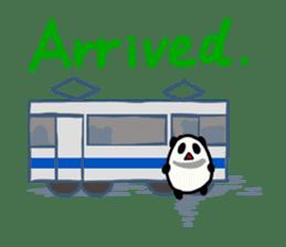 Moving Contact MochiPanda(English Ver) sticker #568321