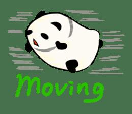 Moving Contact MochiPanda(English Ver) sticker #568322