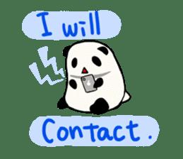 Moving Contact MochiPanda(English Ver) sticker #568324