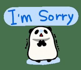 Moving Contact MochiPanda(English Ver) sticker #568326