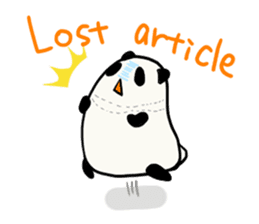 Moving Contact MochiPanda(English Ver) sticker #568327