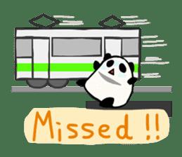 Moving Contact MochiPanda(English Ver) sticker #568329