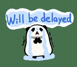 Moving Contact MochiPanda(English Ver) sticker #568330