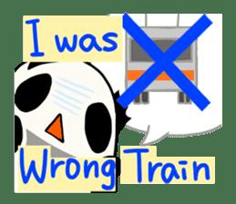 Moving Contact MochiPanda(English Ver) sticker #568331
