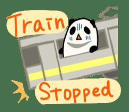 Moving Contact MochiPanda(English Ver) sticker #568332