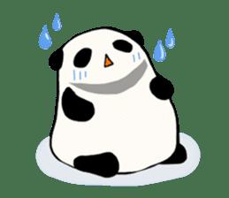 Moving Contact MochiPanda(English Ver) sticker #568341