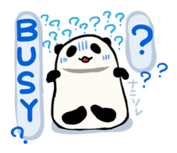 Moving Contact MochiPanda(English Ver) sticker #568345