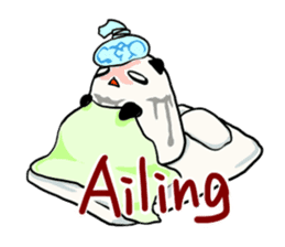 Moving Contact MochiPanda(English Ver) sticker #568350