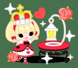 Queen and rabbit sticker #569335