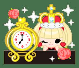 Queen and rabbit sticker #569337