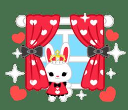 Queen and rabbit sticker #569340
