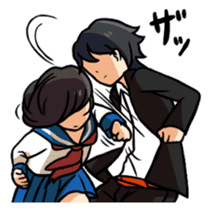 BATTLE COUPLE!! sticker #570803