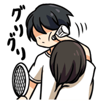 BATTLE COUPLE!! sticker #570807