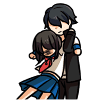 BATTLE COUPLE!! sticker #570826