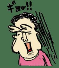 Annoying Strange nose Family sticker #572892