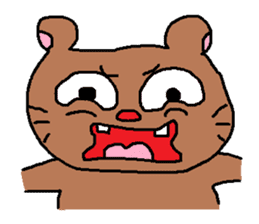 mouse to get angry at. sticker #574220