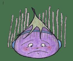 The RU eggplant sticker #574518