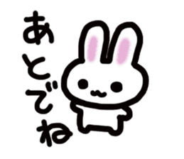 It is a rabbit. sticker #576132