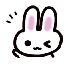 It is a rabbit. sticker #576137