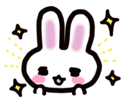 It is a rabbit. sticker #576143
