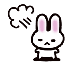 It is a rabbit. sticker #576144