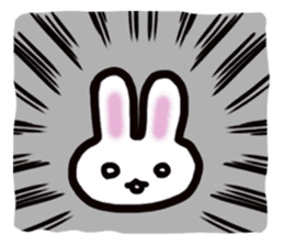 It is a rabbit. sticker #576152
