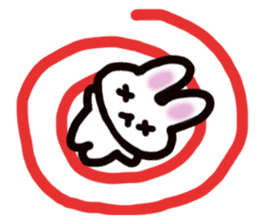 It is a rabbit. sticker #576153