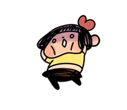 Yotsuko-chan sticker #576196