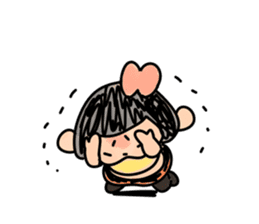 Yotsuko-chan sticker #576197