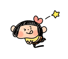 Yotsuko-chan sticker #576201