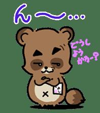 KIYO-DANUKI -KIYOSHI THE RACCOON DOG- sticker #576238