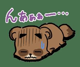 KIYO-DANUKI -KIYOSHI THE RACCOON DOG- sticker #576240