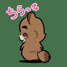 KIYO-DANUKI -KIYOSHI THE RACCOON DOG- sticker #576246