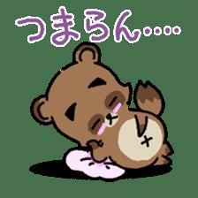 KIYO-DANUKI -KIYOSHI THE RACCOON DOG- sticker #576249