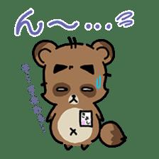 KIYO-DANUKI -KIYOSHI THE RACCOON DOG- sticker #576258
