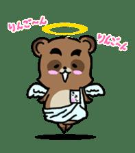 KIYO-DANUKI -KIYOSHI THE RACCOON DOG- sticker #576265