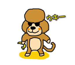 Teku the Poodle Part3 sticker #576430