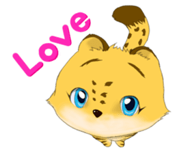 Littlel Liger-chan and Momo-chan sticker #577430