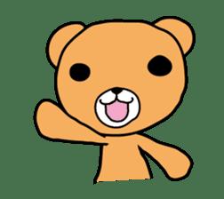 Kuma chan stamp sticker #577594