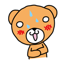 Kuma chan stamp sticker #577610