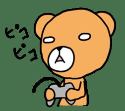 Kuma chan stamp sticker #577616