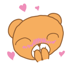 Kuma chan stamp sticker #577617