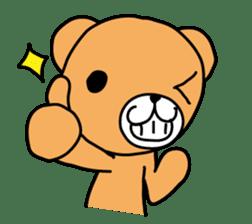 Kuma chan stamp sticker #577620