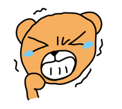 Kuma chan stamp sticker #577621