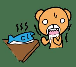 Kuma chan stamp sticker #577626