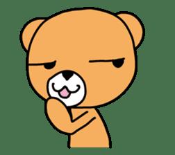 Kuma chan stamp sticker #577629