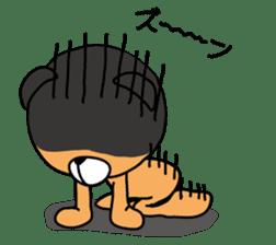 Kuma chan stamp sticker #577630